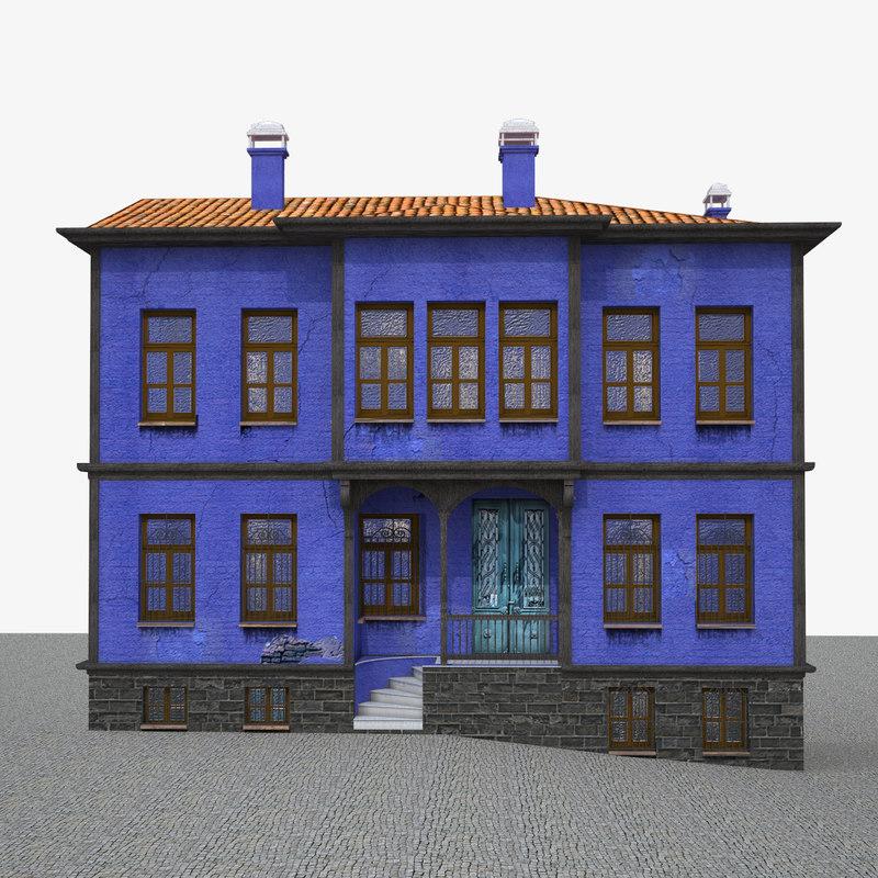 3d ready ottoman house