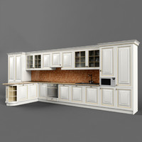 classic kitchen 02 3ds