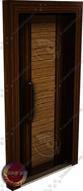 interior door 3d 3ds
