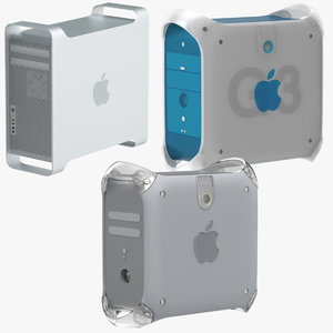 apple mac pro tower c4d