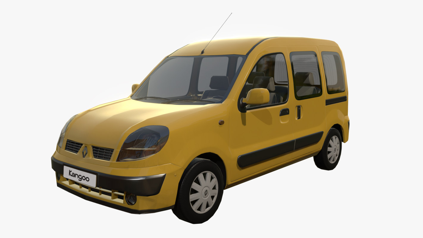 3d renault kangoo. Black Bedroom Furniture Sets. Home Design Ideas