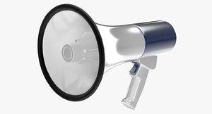 bullhorn horn 3d model