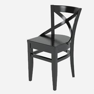 3ds black vienn chair