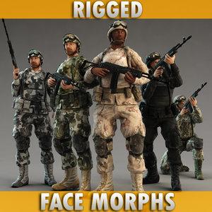 3d soldier 5 moro type