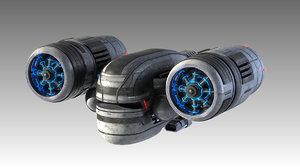 lwo spaceship space ship