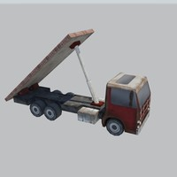 13  low poly trucks and  cars