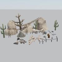 3d max desert games