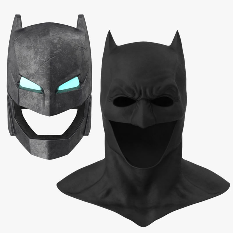 batman cowl power armor 3d max