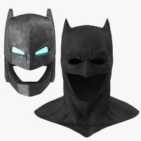 Batman Cowl and Power Armor Helmet Collection