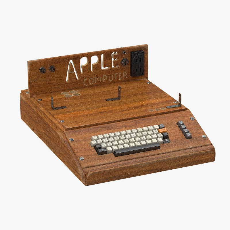 21 apple mouse 3d model