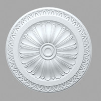 PLASTER Rose ceiling medallion