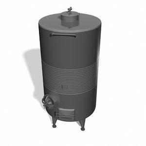 fermentation tank obj
