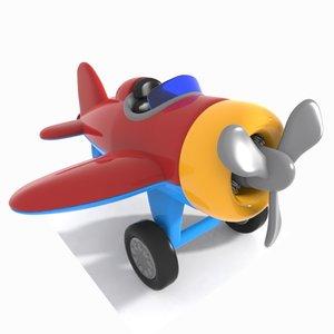 3d aircraft toon model