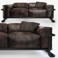 halo huntington sofa 3d max