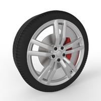 Wheel Modern Car 2016