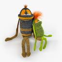 monster toy 3D models