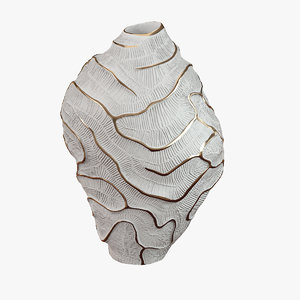 3d vase fossilia fos