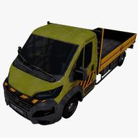 truck fiat ducato pbr 3ds
