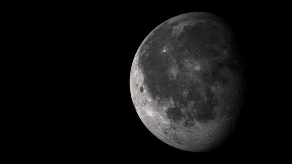 3d satellite lune