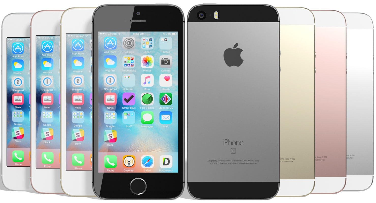 max realistic apple iphone se