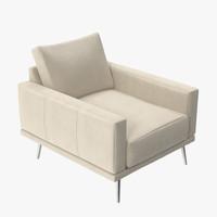 boconcept carlton chair ak42 3d max