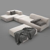 bend sofa 3d model