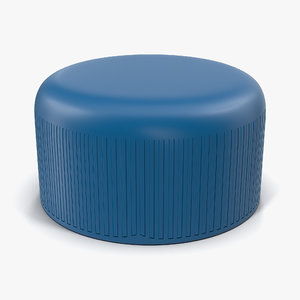 plastic bottle cap 3d max
