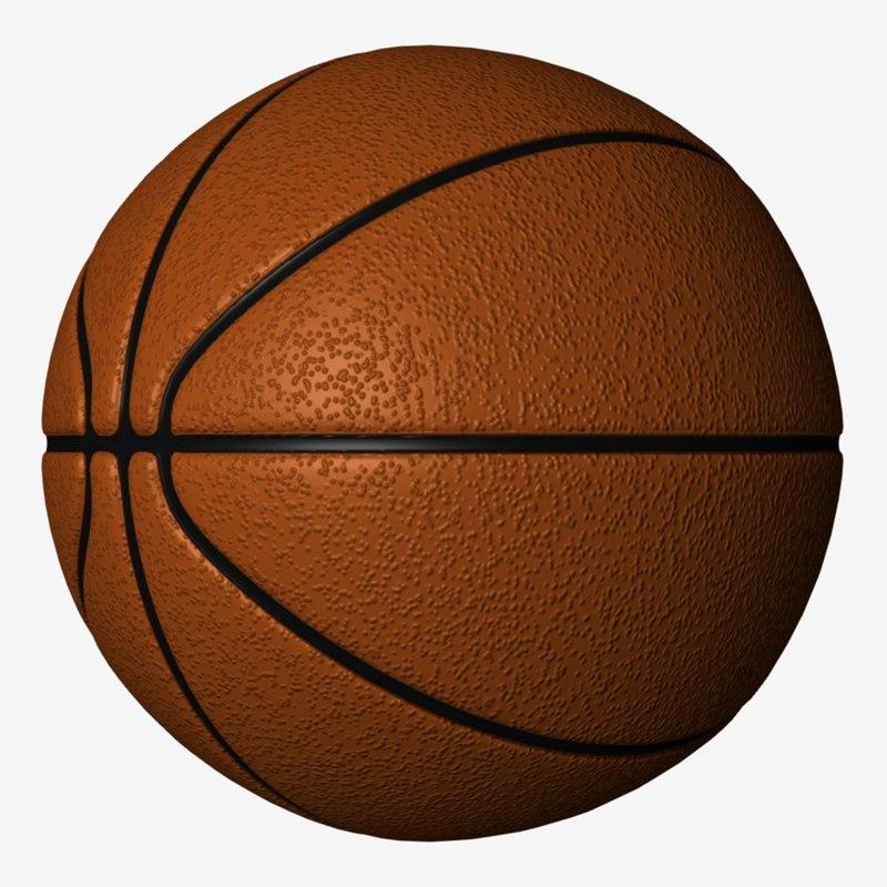 3d basketball lightwave