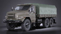 GAZ Ural Next 2015 Military