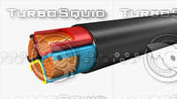 electrical cables insulated multi 3d max