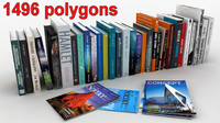 books magazines 3d max