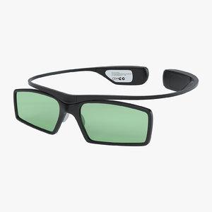 3d model samsung active glasses