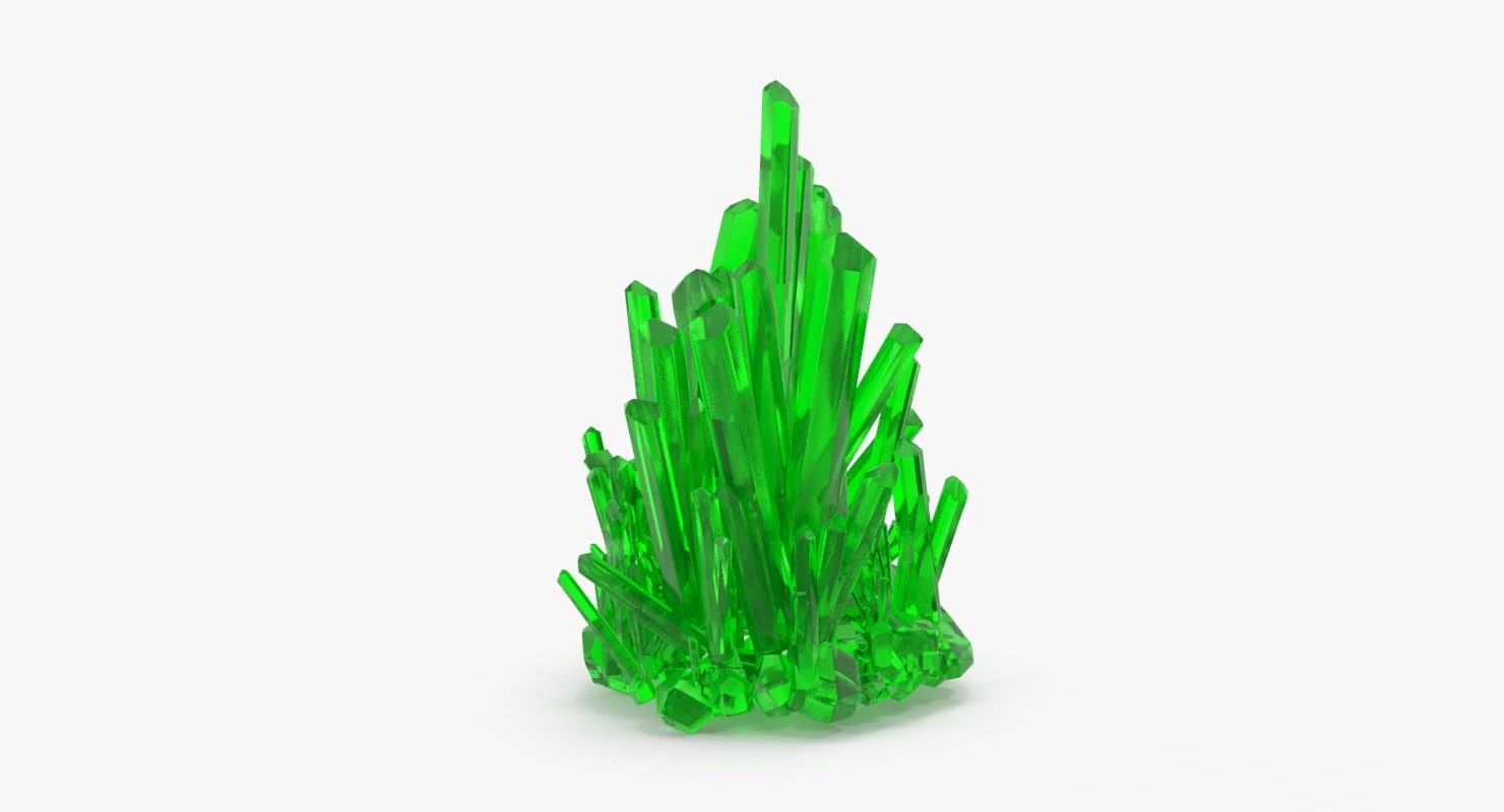 kryptonite crystals 3d max