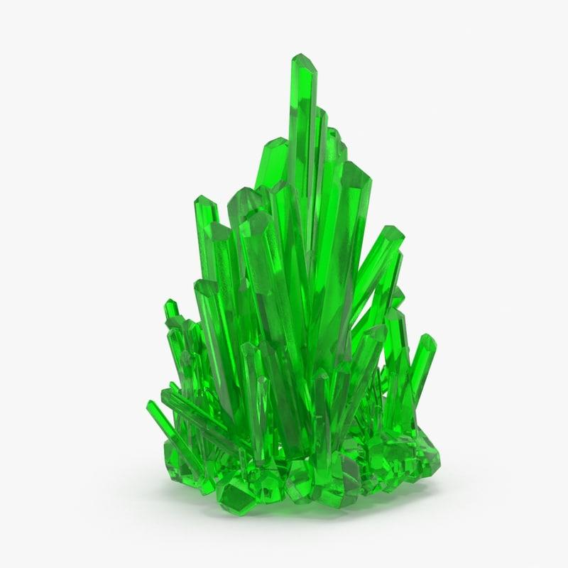 kryptonite crystals 3d max