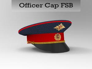 3d model cap fsb