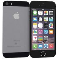 3d model apple iphone se space