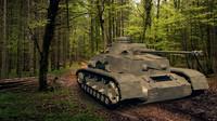 3d model sd kfz 161-1 tank