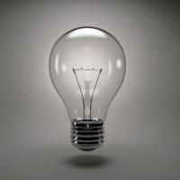 incandescent light bulb 3d max