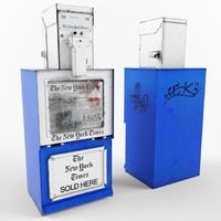 New York newspaper dispenser NYT