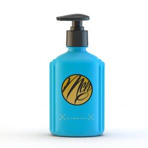 3d liquid soap