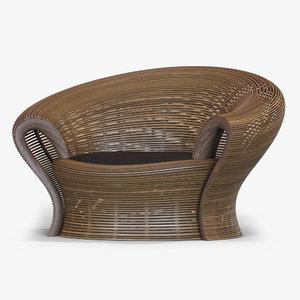 3d model steam 23 chair