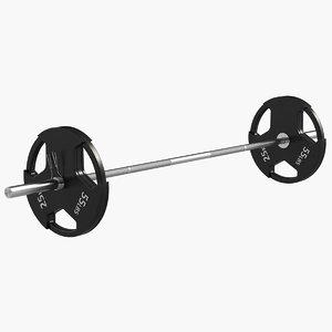 3d barbell model