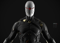 ninja character 3d x