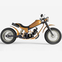 old motorcycle 3d 3ds