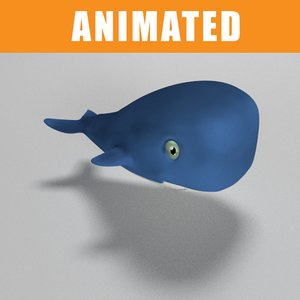 whale animation 3d 3ds