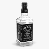 Jack Daniels Bottle Empty