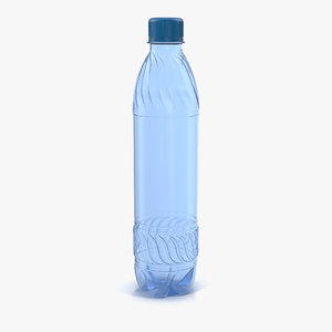 plastic water bottle blue 3ds