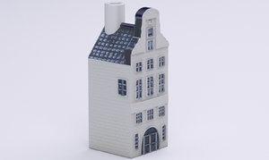 dutch house 2 2016 3d model