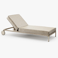 dedon - rayn beach chair 3d 3ds