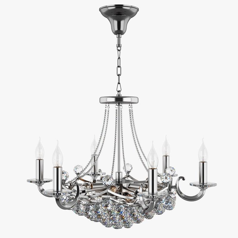 3d chandelier 861154 md3529 15 model